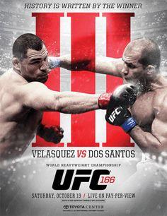 UFC 166 Velasquez vs. Dos Santos 3 Fightcard