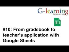 Download the gradebook for excel from vertex42 teaching glearning 10 from gradebook to teachers application with google sheets youtube fandeluxe Images