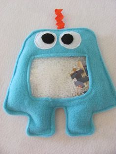 Monster i spy bags... this would be great in my sensory room!