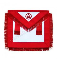 Masonic Royal Arch Member RAM Apron With Fringe Aprons, Arch, Flag, Science, Apron, Belt