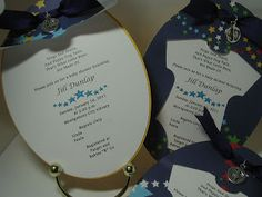 I'd Rather Be Making Cards: Baby Shower Invitations - With Gypsy File