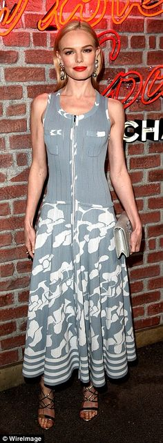 Kate Bosworth put on yet another fashionable display as she stepped out for theI Love Coc...