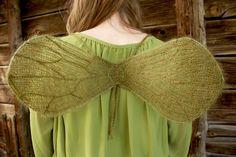 🎀 Asas de Fadas Tricô Padrão -  /  🎀 Knitting Pattern Fairy Wngs -