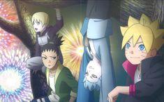 Inojin, Shikadai, Mitsuki and Boruto Naruto Shippuden Sasuke, Naruto Kakashi, Anime Naruto, Mitsuki Naruto, Inojin, Shikadai, Boruto And Sarada, Naruto Comic, Naruto Funny