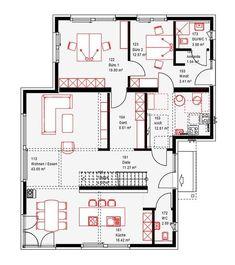grundriss erdgeschoss e 10 206 1 bungalow in l form grundrisse pinterest erdgeschoss. Black Bedroom Furniture Sets. Home Design Ideas