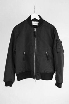 best sneakers 7c954 74838 Our Legacy Bomber Jacket II Black Shimmer