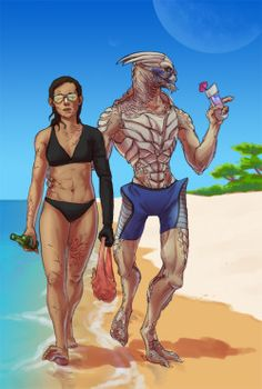 Fanart tropical mass effect femshep garrus vakarian Shakarian Retirement i'm sorry for everything stellar jane shepard truly my hand was forced custom shep hear me out guys... what if it's a swim-up bar?? and for nothing