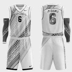 6b2d6bc0686 Wakanda Concept Basketball Uniforms Basketball Design