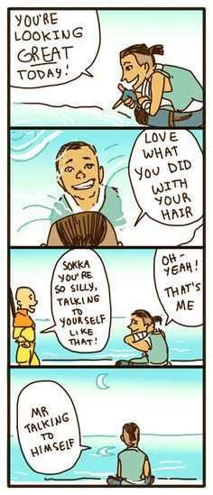 Avatar The Last Airbender SET 2 An Adult Comic by {(ACF)}