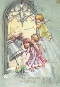 Soloillustratori: Search Results for Josefine Batke-Koller Mary Christmas, Christmas Card Images, Christmas Feeling, Vintage Christmas Images, Christmas Poster, Christmas Clipart, Retro Christmas, Christmas Angels, Christmas Art