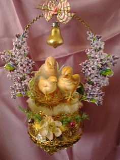 Victorian style Easter ornament.  My creation.(Massimo Marzocchetti)