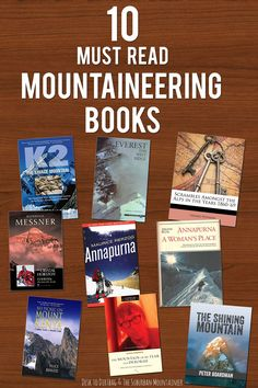 10 Must Read Mountaineering Books