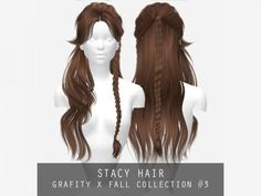 The Sims 4 Stacy Hair - Modern Los Sims 4 Mods, Sims 4 Game Mods, Sims Games, Sims Four, The Sims 4 Pc, Sims 4 Mods Clothes, Sims 4 Clothing, Die Sims, Sims Cc