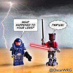 #LEGO_Galaxy_Patrol and #DarthMaul #StarWars #LEGO @LEGO