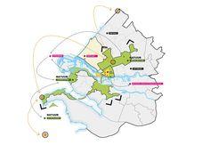 concept regionaal Krabbepark RRog Stedenbouw en Landschap Architecture