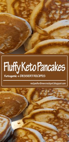 These fluffy, tasty pancakes are super easy. Serve with plenty of butter and your favorite sugar-free syrup. Fluffy Keto Pancakes - You must try this Keto Pancakes Coconut Flour, Low Carb Pancakes, Tasty Pancakes, Almond Flour, Low Calorie Breakfast, Egg Recipes For Breakfast, Breakfast Ideas, Breakfast Cookies, Keto Egg Recipe