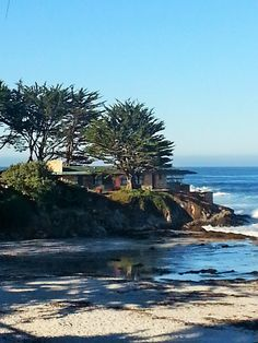 The Frank Lloyd Wright House on Scenic in Carmel by the Sea, CA Frank Lloyd Wright Buildings, Frank Lloyd Wright Homes, Carmel By The Sea, Big Sur, Beaches, Portugal, To Go, California, Architecture