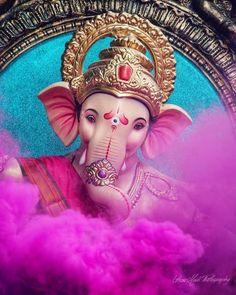 Shri Ganesh Images, Shiva Parvati Images, Ganesha Pictures, Krishna Images, Ganesh Wallpaper, Heart Wallpaper, Mobile Wallpaper, Lord Ganesha Paintings, Ganesha Art