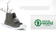 Natural World, des chaussures écologiques!