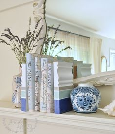 Add a touch of coastal decor with coastal inspired bookends