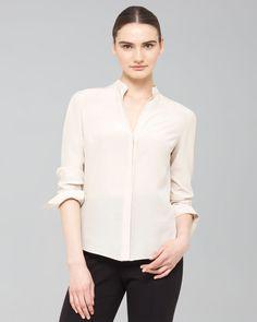http://docchiro.com/akris-punto-mandarin-collar-silk-blouse-p-859.html