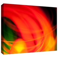 'Abstract' by John Black Gallery-Wrapped on Canvas