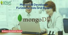 Did you miss out on our MongoDB #Webinar? Don't worry! You can still watch the recorded session to learn basics of designing & building applications with #MongoDB: http://www.springpeople.com/webinars/mongodb-developer-fundamentals-and-basics?utm_source=Pinterest&utm_medium=Social&utm_campaign=Brand_PI_WB_MongoDB_290616