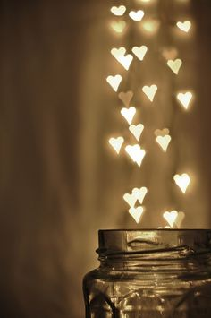 a thousand hearts in a jar :)