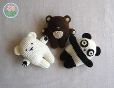 Amigurumi Bear Family   Toma Creations