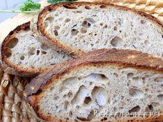 Chléb z naší vesnice – PEKÁRNOMÁNIE Sourdough Bread, Country Bread, Bread