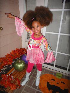 Next Halloween cute costume for a little girl
