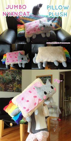Nyan cat awsome pillow