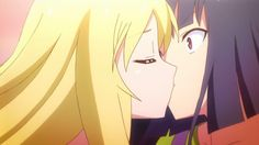 Rita and Akasaka's farewell kiss!