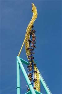 The Twister- when me and my step-brother went some girl got stuck on this ride... We rode it anyway! :)