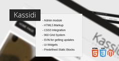 Kassidi - Magento theme - ThemeForest Item for Sale