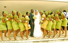 Stunning and Gorgeous Wedding Ideas Bridesmaid Wedding Dress Suit, African Wedding Dress, African Dress, Wedding Gowns, African Fabric, Nigerian Traditional Dresses, African Traditional Wedding, Wedding Pics, Wedding Styles