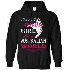 Just a IRANIAN Girl In an Australian World