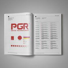 PGR drive technologies için yapılan kurumsal kimlik tasarımı kitabı & üretimi. kurumsal ajans & tedarikci olarak ajansımızı tercih ettikleri için teşekkür ederiz. cagajans.com.tr