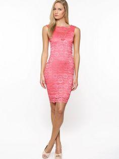 867f2e4bc60 Lipsy Lace Stripe V-Back Dress buy online from koovs.com Western Girl  Outfits