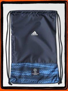 Tula Adidas Azul  UEFA Champions League  Producto Original  Ref. AC0693  Precio $ 54.900