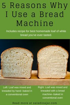 Sweet Milk Soft White Bread Look at the pictures comparing hand-kneaded bread to bread machine-kneaded bread. Includes recipe for Sweet Milk White Bread. The post Sweet Milk Soft White Bread appeared first on Jennifer Odom. Easy Bread Machine Recipes, Best Bread Machine, Bread Maker Machine, Breadmaker Bread Recipes, Soft White Bread Machine Recipe, Breville Bread Maker Recipes, Sourdough Bread Machine, Bread Machine Banana Bread, Bread Machines