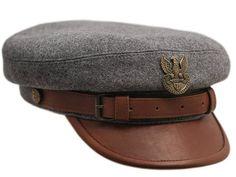 Gorra Réplica Militar de Legiones gris / marrón