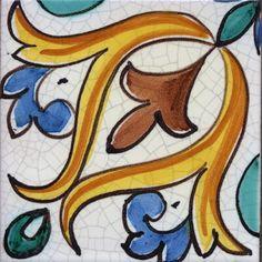 Moorish Style Pakistan Art, Tile Crafts, Antique Tiles, Handmade Tiles, Arte Popular, Mural Painting, Moorish, Bath Decor, Islamic Art