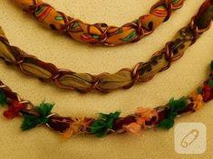tulbent-ve-boncuklardan-kolye-yapimi-6 Crochet Necklace, Jewelry, Tejido, Jewlery, Jewerly, Schmuck, Jewels, Jewelery, Fine Jewelry