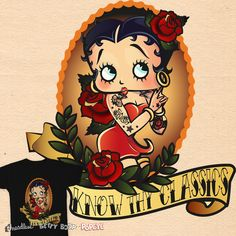 Betty Boop Pin Up on Threadless
