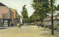 Gezicht in de Amsterdamsestraatweg te Utrecht.1905-1908 Utrecht, Old Paintings, Vintage Photographs, Old Pictures, Historical Photos, Netherlands, Holland, Dutch, Street View