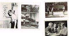 Vintage Album Adirondack 1955 Woodcraft Camps Fynmore 17 Original Photos Sports
