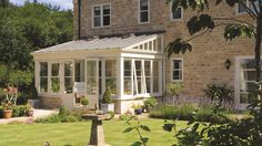 timber lean-to conservatory