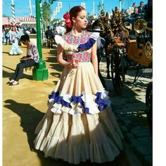 Vestido flamenca 2017