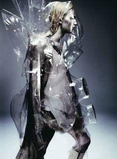 Futuristic fashion... and you thought lady gaga was weird!